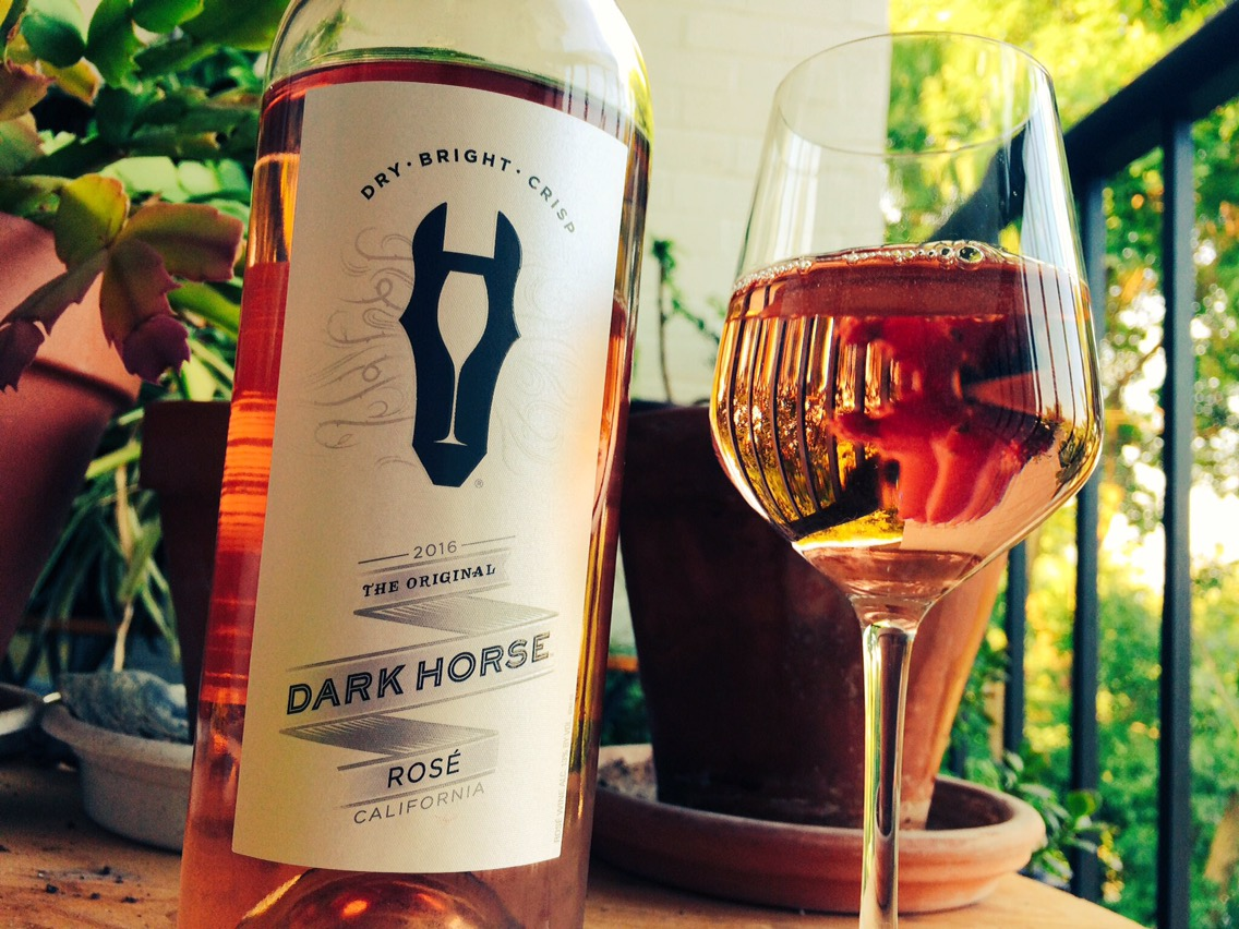 Wine Review: 2016 Rose', Dark Horse