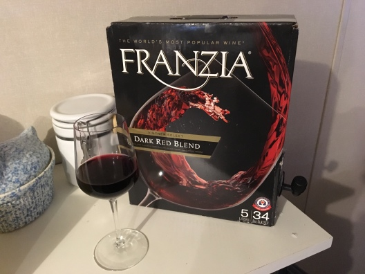 Franzia Dark Red Blend