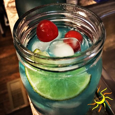 Albuquerque Breaking Blue Collins Gin Cocktail Recipe