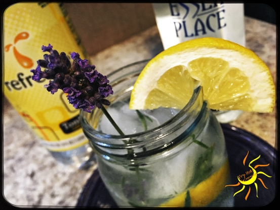 Lemon Lavender Gin and Tonic