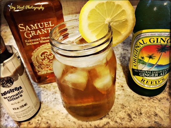 Whiskey Ginger Spritz